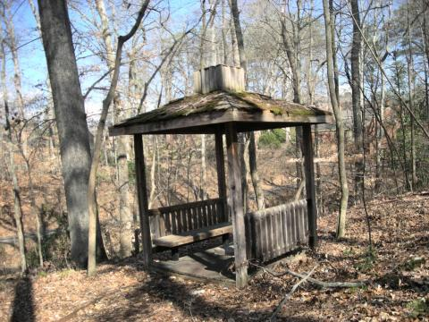 Gazebo at the refuge